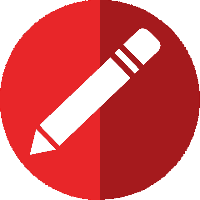 red pencil icon