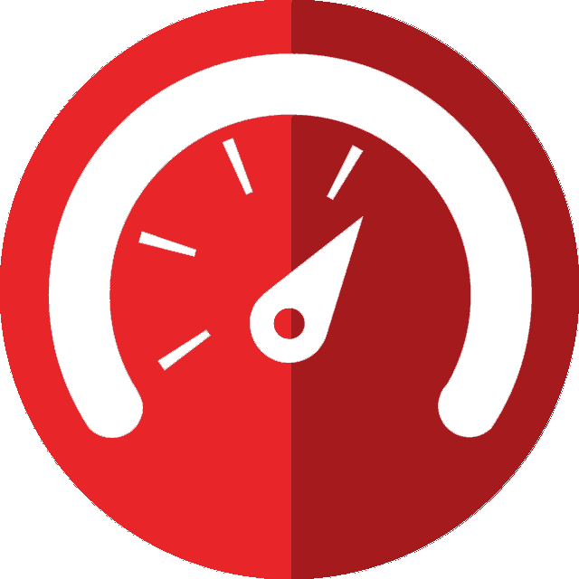 red speed icon