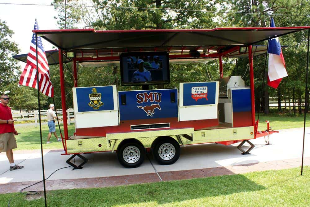 College Football Tailgating Trailer Smu Imagi Motive