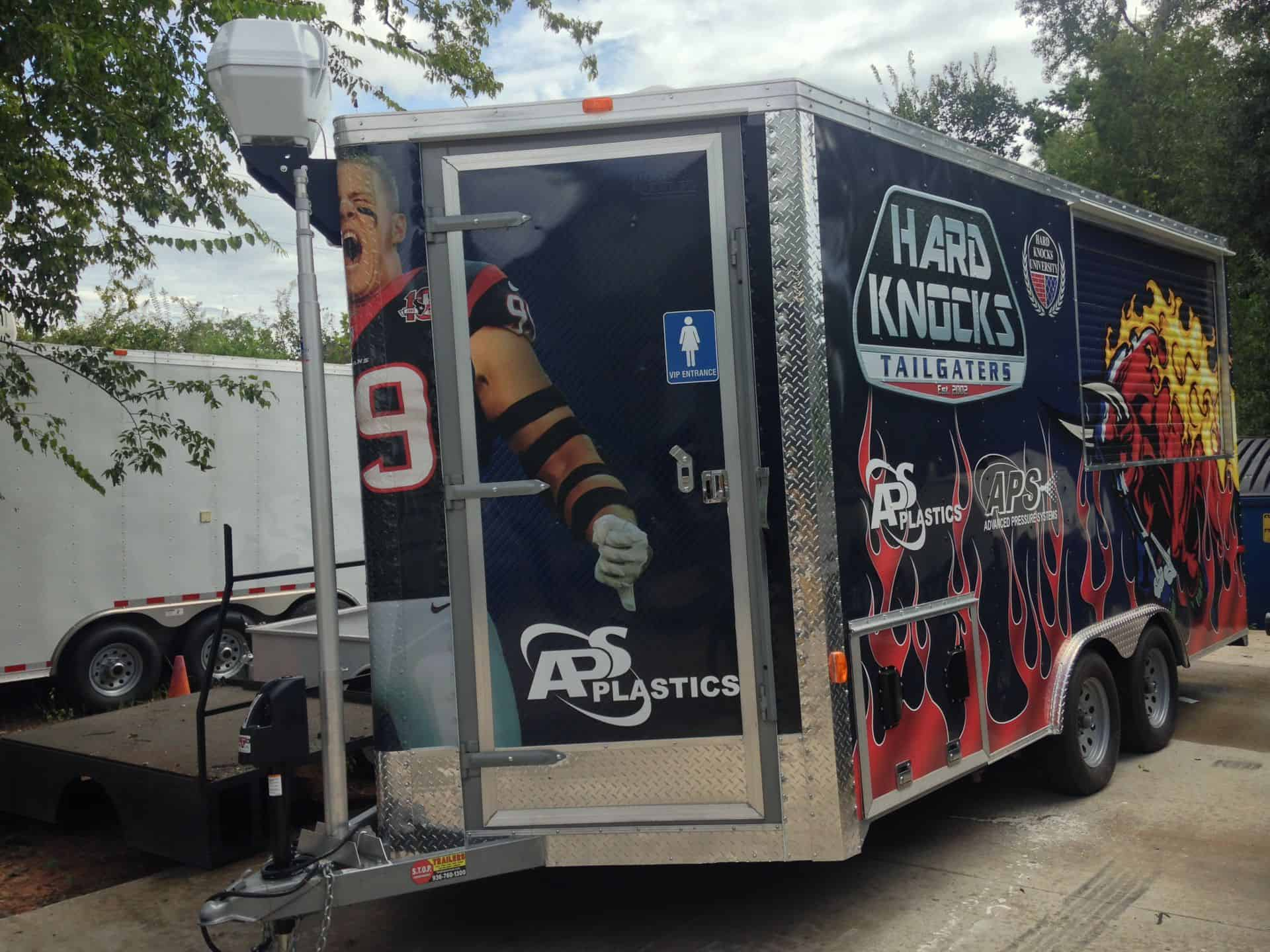 Houston Texans Tailgating Trailer Project Imagi Motive