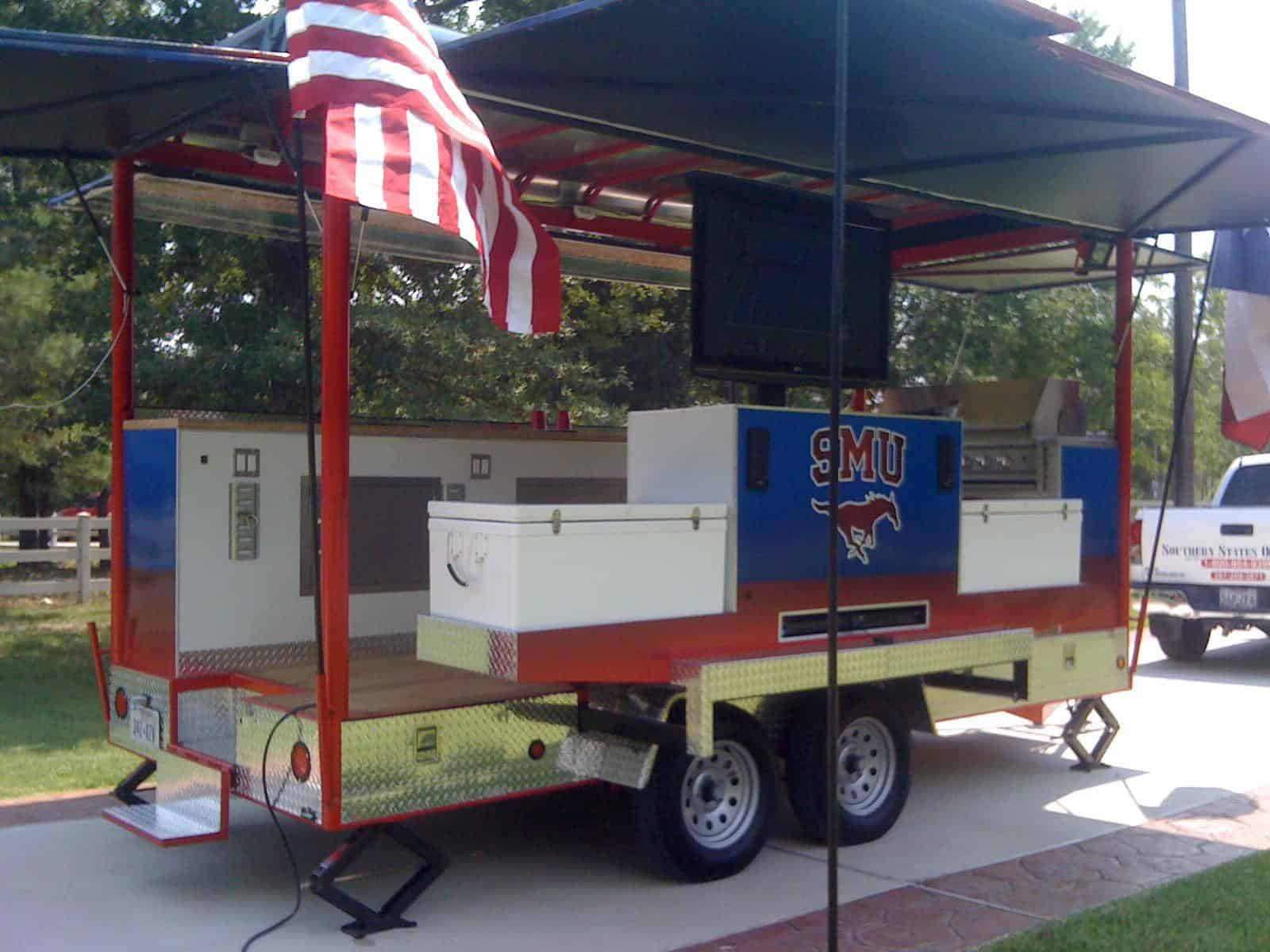 Texas Truck Sales >> College Football Tailgating Trailer – SMU - Imagi-Motive