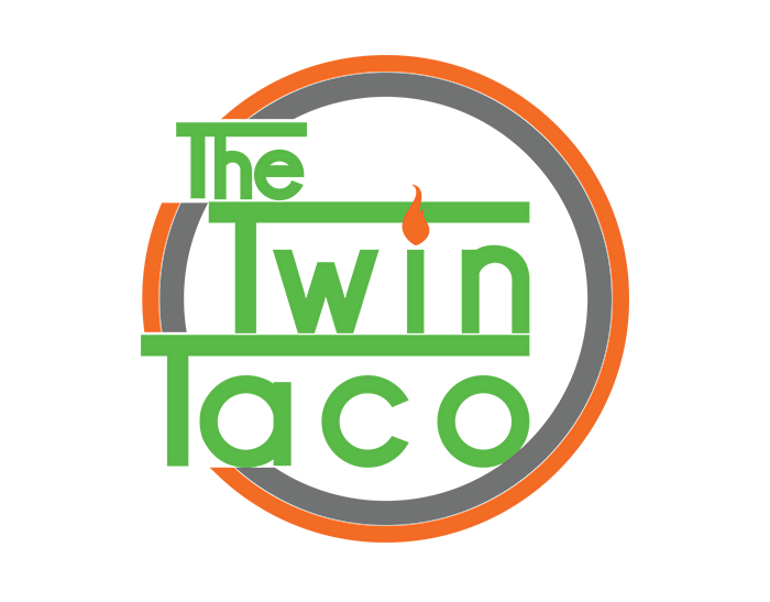 The twin taco logo